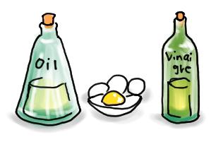 マヨネーズの原料
