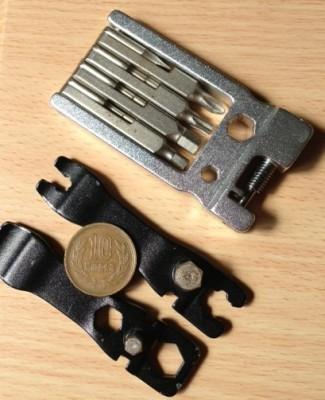 携帯工具のタイヤレバー